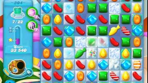 Candy Crush Soda Saga Level 304 (3 Stars)
