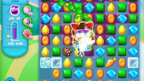 Candy Crush Soda Saga Level 269 (2nd version, 3 Stars)