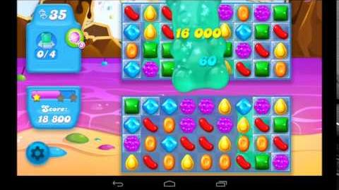 Candy Crush Soda Saga Level 21 - 3 Star Walkthrough