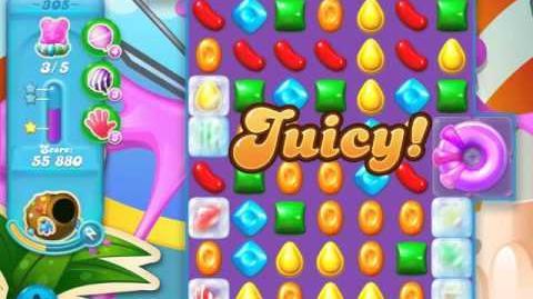 Candy Crush Soda Saga Level 305 (2nd nerfed, 3 Stars)