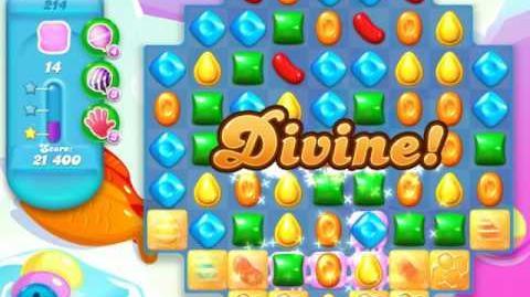 Candy Crush Soda Saga Level 214 (4th version)