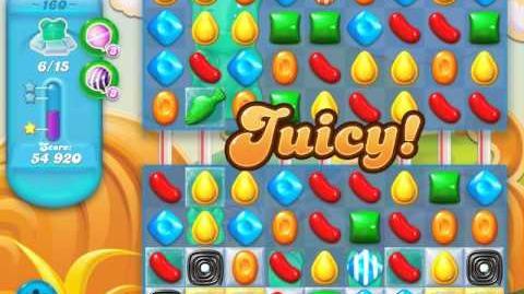 Candy Crush Soda Saga Level 160 (4th version, 3 Stars)