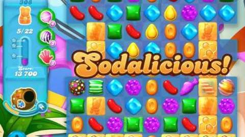 Candy Crush Soda Saga Level 308 (5th version)