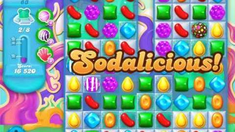 Candy Crush Soda Saga Level 83 (2nd version, 3 Stars)