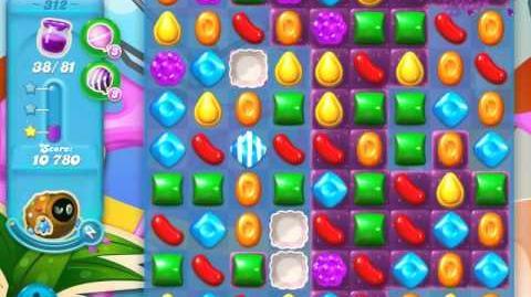 Candy Crush Soda Saga Level 312 (4th version, 3 Stars)