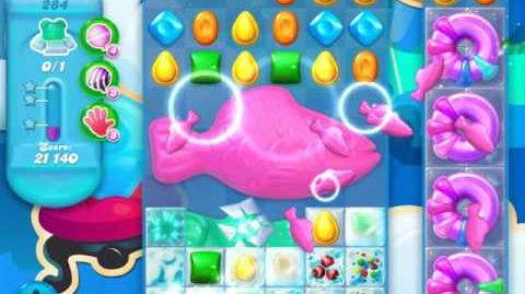 Candy Crush Soda Saga Level 284 (buffed, 3 Stars)