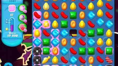 Candy Crush Soda Saga Level 1601 (3 Stars)