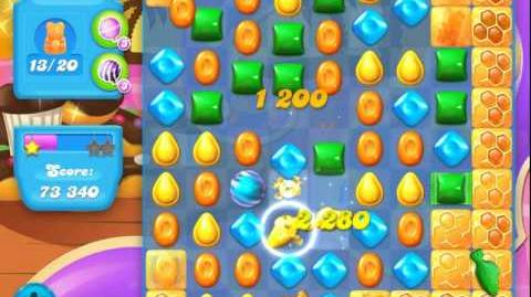 Candy Crush Soda Saga Level 106 (nerfed, 3 Stars)