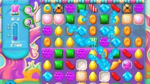 Candy Crush Soda Saga Level 87 (6th version, 3 Stars)