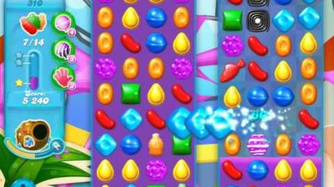 Candy Crush Soda Saga Level 310 (8th version, 3 Stars)