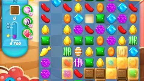 Candy Crush Soda Saga Level 93 (4th version, 3 Stars)