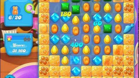 Candy Crush Soda Saga Level 106 (3 stars)