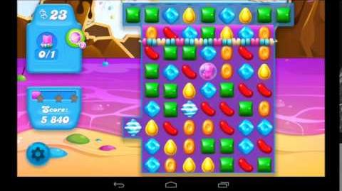 Candy Crush Soda Saga Level 17 - 3 Star Walkthrough
