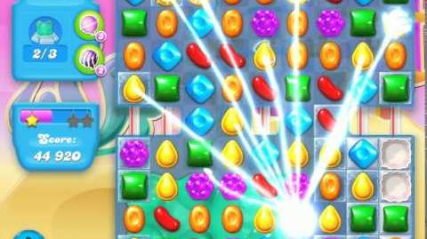 Candy Crush Soda Saga Level 170 (nerfed, 3 Stars)
