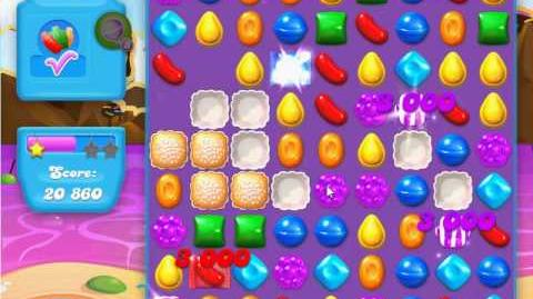 Candy Crush Soda Saga Level 21 (2nd nerfed, 3 Stars)
