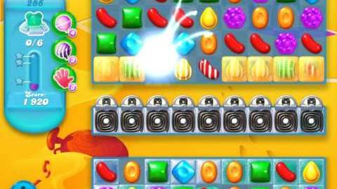 Candy Crush Soda Saga Level 255 (2nd buffed, 3 Stars)