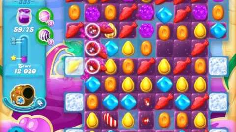 Candy Crush Soda Saga Level 335 (2nd nerfed)