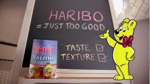 New HARIBO Advert 2012 - Just too good