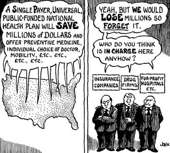 Single payer will save money