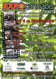 Madrid 2007 Expo Cannabis