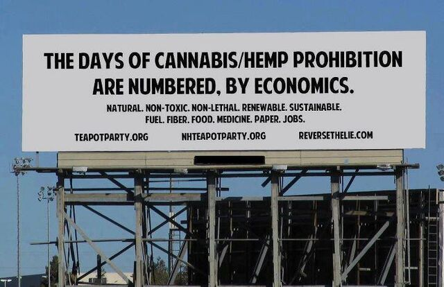 File:The days of cannabis prohibition are numbered.jpg