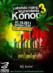 Lublin Poland 2011 October 1 poster