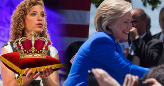 Debbie Wasserman crowns Queen Hillary