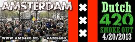 Amsterdam 2013 April 20 Netherlands