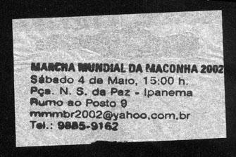 Rio de Janeiro 2002 GMM Brazil