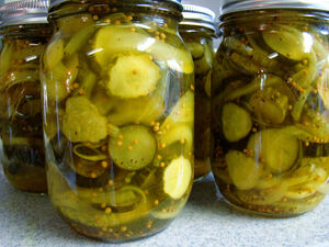 Bread and butter pickles 2012