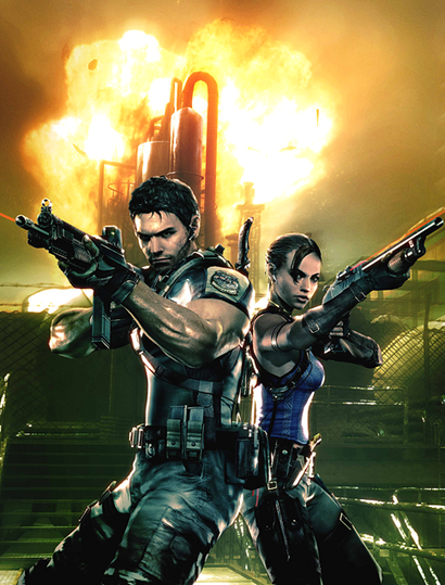 RE5Chris&Sheva
