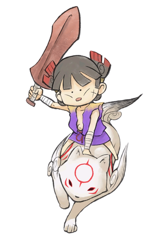 File:Kuni and Chibiterasu.png