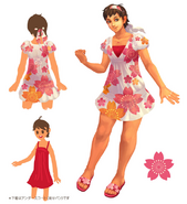SSFIV Sakura Alt Costume