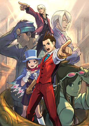 Apollo Justice Art