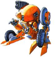 Cyberbots FZ-100 FORDY