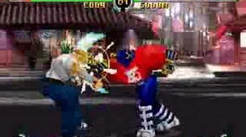 Final Fight Revenge (Arcade, Sega Saturn) Demo