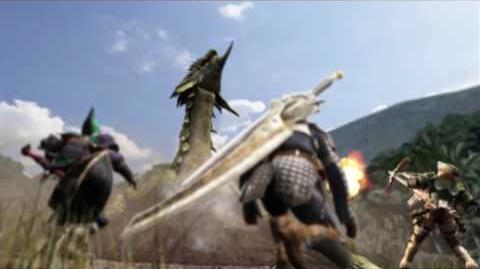 Monster Hunter Freedom Unite - Official Launch Trailer
