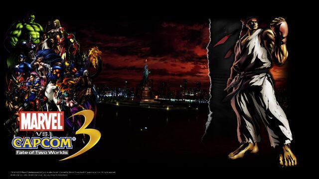 File:Marvel Vs Capcom 3 wallpaper - Ryu.jpg