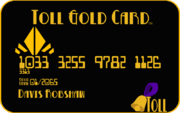 Toll Gold Card