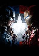 Textless Civil War Poster Iron Man's Mask