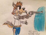 Darkblade's revolver