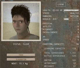 Caravaneer Recruiting - Slave