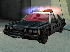 Carcer City police car
