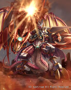 Lava Arm Dragon (full art)