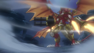 Blazing Flare Dragon(Anime NC S1)