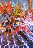 Sealed Demon Dragon, Dungaree (Full Art)