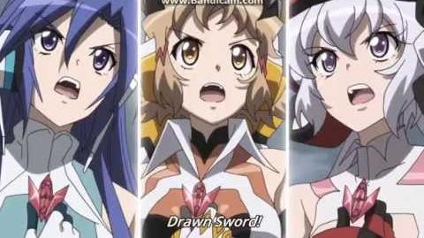 Favorite anime moments Senhime Zesshou Symphogear GX-0