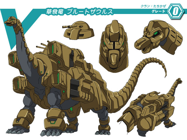 Herbivore Dragon, Brutesaurus (Character Unit)