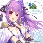 Purple Haired, Melania