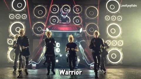 B.A.P - Warrior MV English subs Romanization Hangul HD